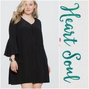 Black dress by Heart Soul NWT